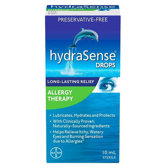 hydrasense eye drops for allergy