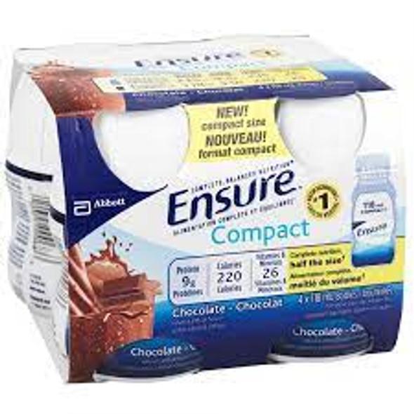 ENSURE COMPACT CHOCOLATE 4X118ML 472