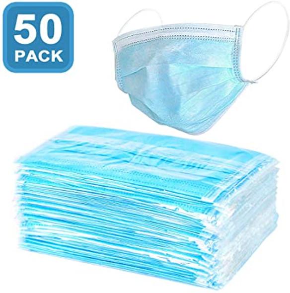 Disposable Face Mask Earloop 50 Pcs per Pack