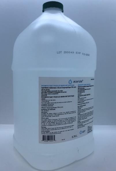 Acenzia Antiseptic Hand Sanitizer 3.78L