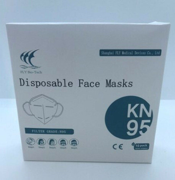 BIO-TECH DISPOSABLE FACE MASKS KN95