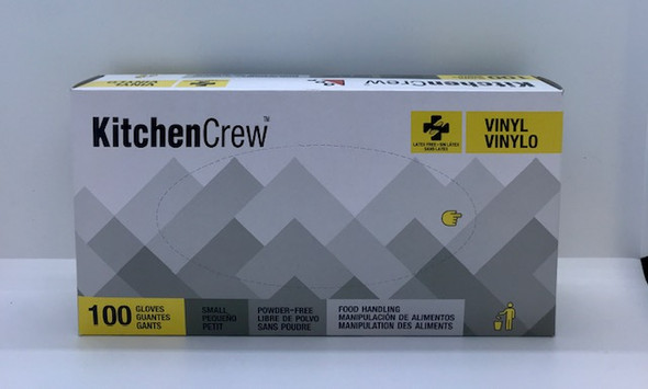 KITCHEN CREW VINYL POWDER FREE SMALL 100
