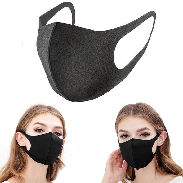 FASHION RE-USEABLE MASK BLACK