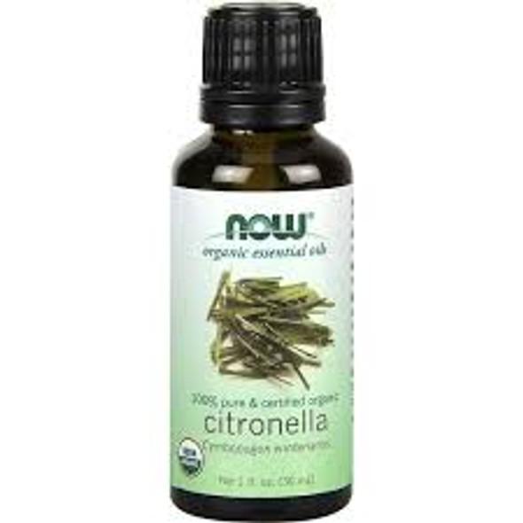 Now Pure & Organic Citronella, 30mL