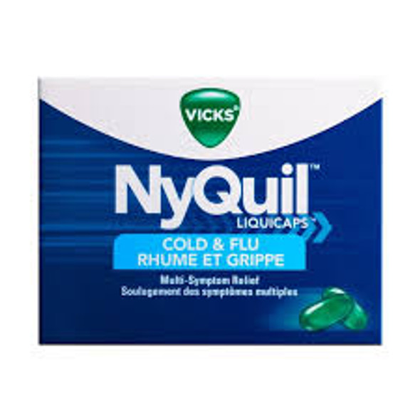 VICKS NYQUIL COLD AN 16