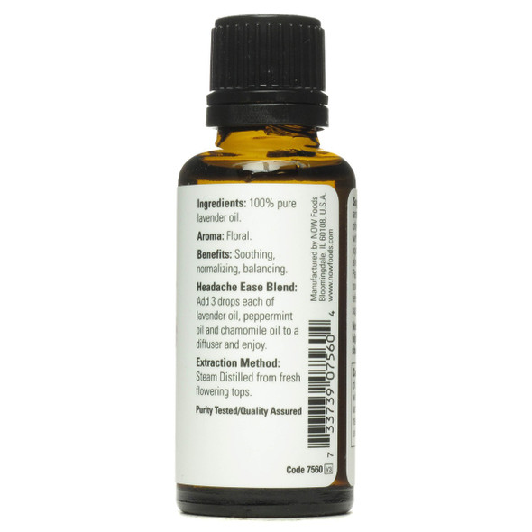 Now Pure Lavender Essential Oils, 1 fl. oz. 30 ml