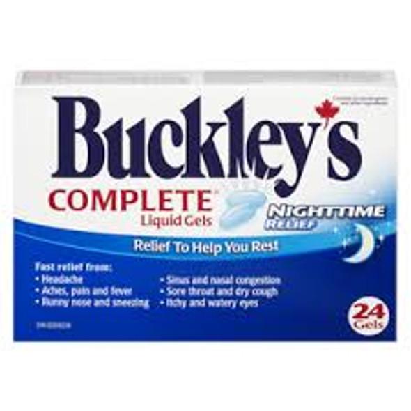 BUCKLEY'S COMPLETE NIGHT 24GELS