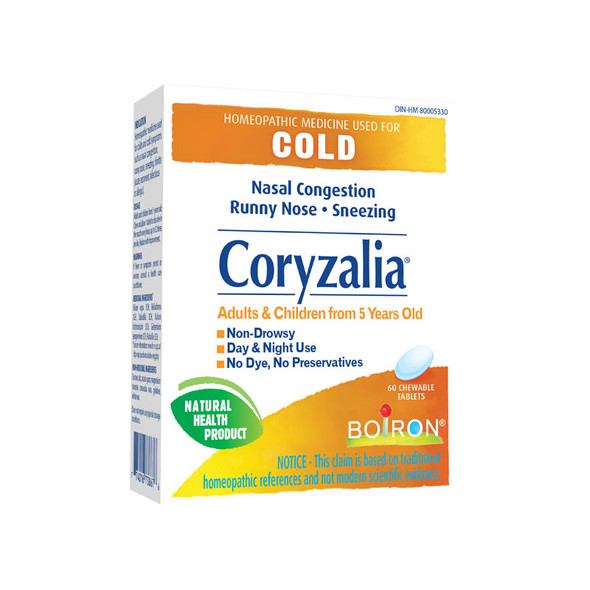 CORYZALIA COLD/CONG 60 chews