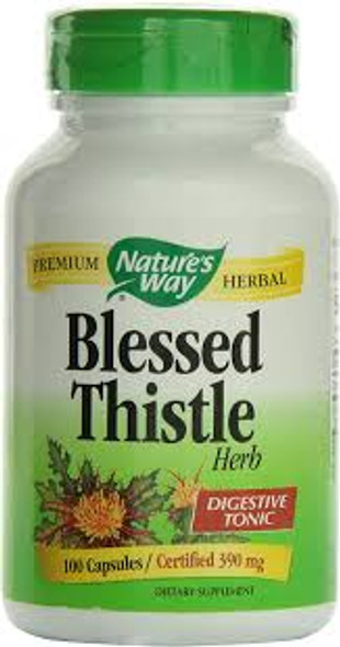 NW BLESSED THISTLE HERB 100 CAPS