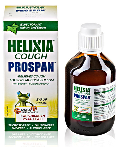 HELIXIA Cough Prospanåä for Kids Ages 1 to 11 years, 100ml