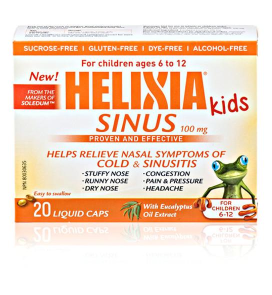HELIXIA Sinus for Children 6 to 12 years, 20 Liquid Caps