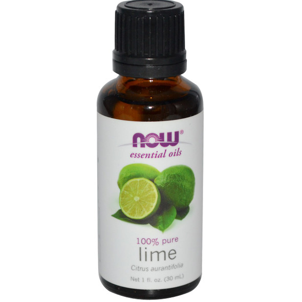 Now Lime Essential Oils, 1 fl. oz. 30 ml