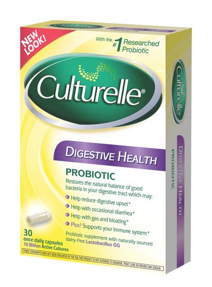 Culturelle Probiotics Digestive health, 30 Caps