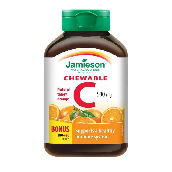 Chewable Vitamin C orange bonus pack