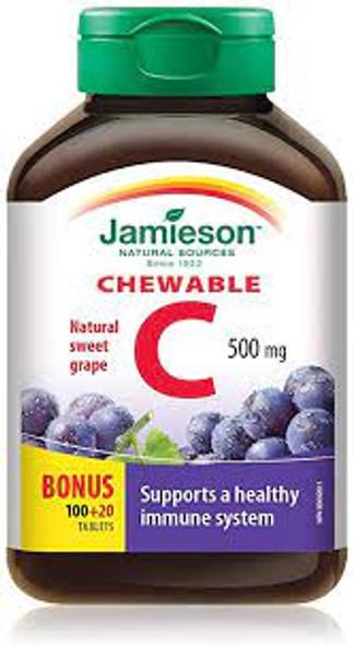 vit c chewable grape
