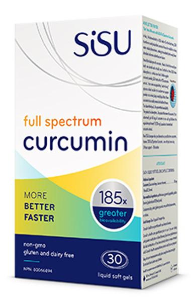 SISU Full Spectrum Curcumin, 30 Liq Soft Gels