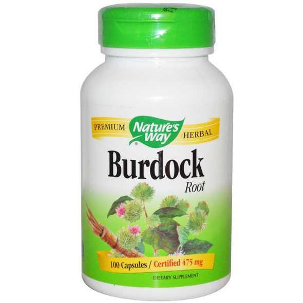 Nature's Way Burdock Root 100 Capsules