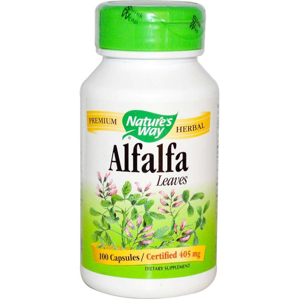Nature's Way Alfalfa Leaves 100 Capsules