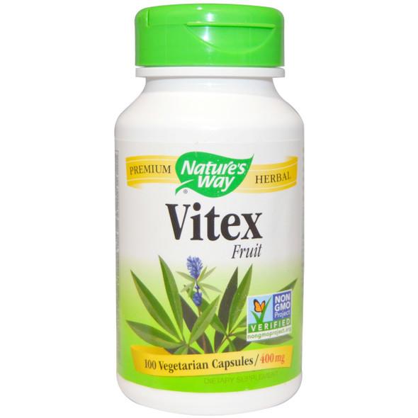 Nature's Way Vitex Fruit 400 mg, 100 Capsules