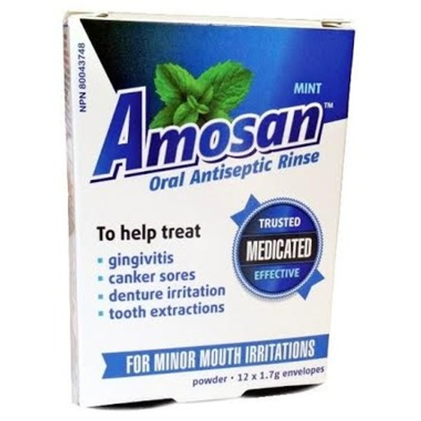 AMOSAN ORAL RINSE AN