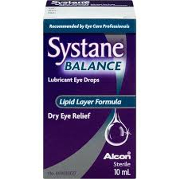 Systane Balance Lubricant Eye Drops, 10mL