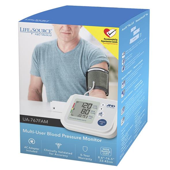 life source blood pressure meter