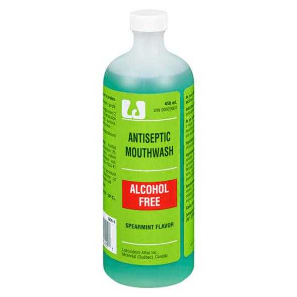 atlas alcohol free mouth wash