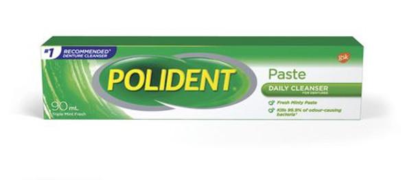 polident paste