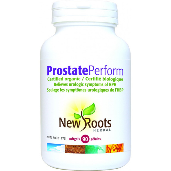 New Roots Prostate Perform, 90 Softgels