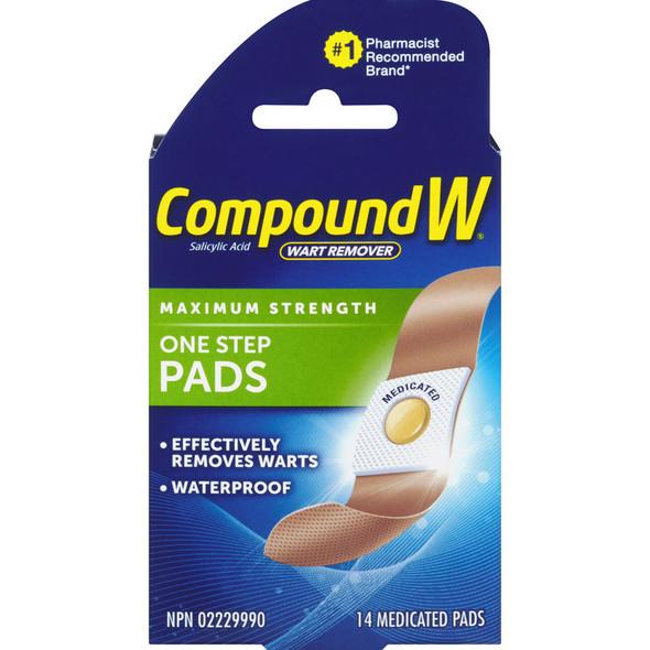 compound w pads