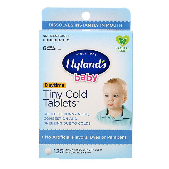 HYLANDS BABY QUICK DISSOLVE TABLETS