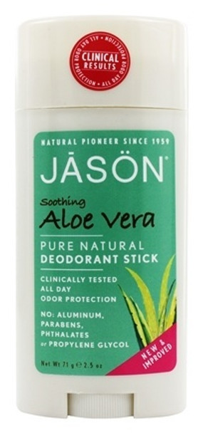 Jason Deodorant Stick Soothing Aloe Vera, 71g