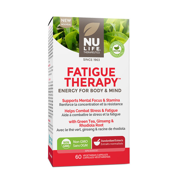 NuLife Fatigue Therapy, 60 Caps