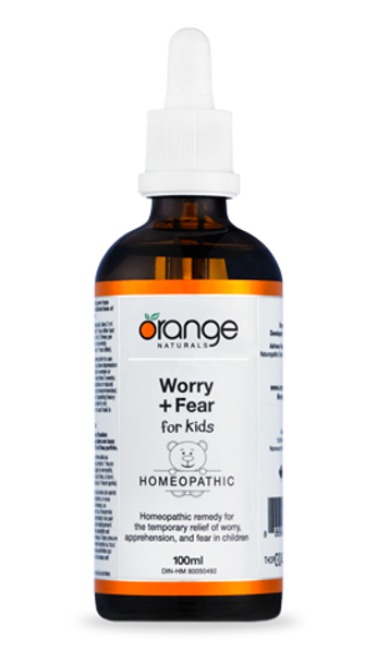 Homeopathic - Worry+Fear (for kids) 100ml shortdated May 20/20