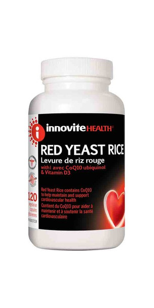 Innovite Health Red Yeast Rice,300mg -120s
