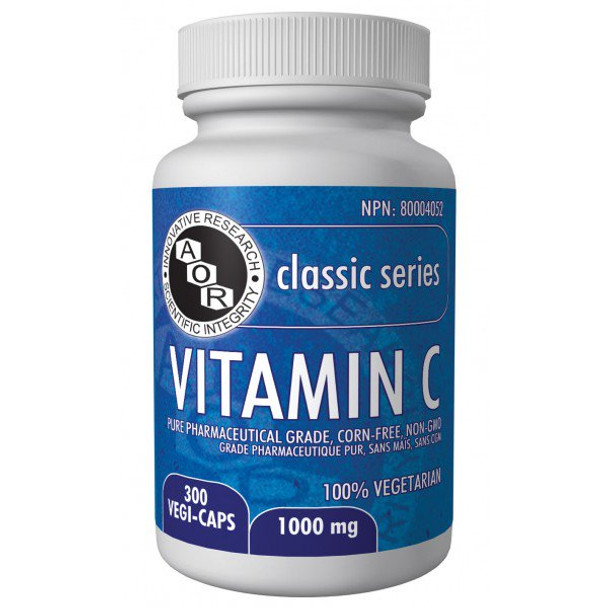 AOR Vitamin C 1000mg, 300 caps