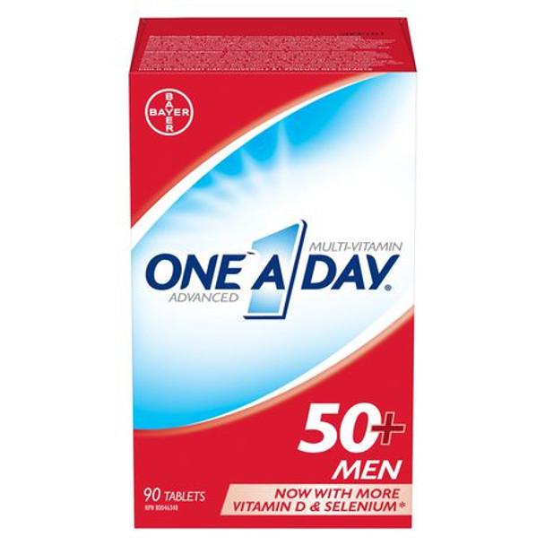 One A Day Multi-Vitamin for Men 50+