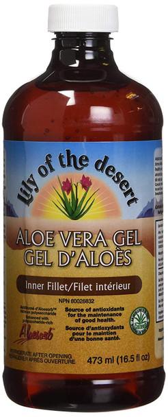 Lily of the Desert Aloe Vera Gel, Inner Fillet 473ml
