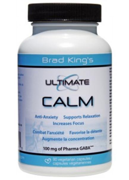 Brad King Ultimate Calm - GABA 100mg, 90 Capsules