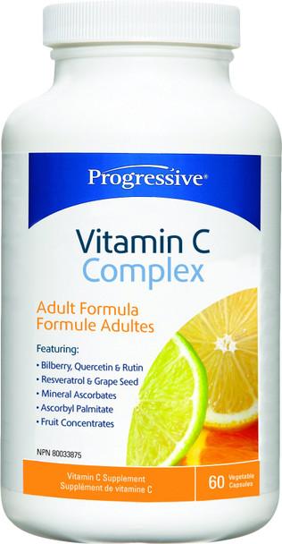 Progressive Vitamin C Complex, 60 caps