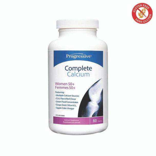 Progressive Complete Calcium Women 50+,  60 caps