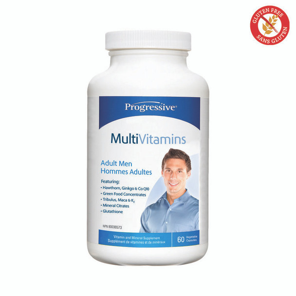 Progressive MultiVitamins for Adult Men