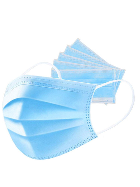 Disposable Face Mask Earloop 5 Pcs per Pack for $10