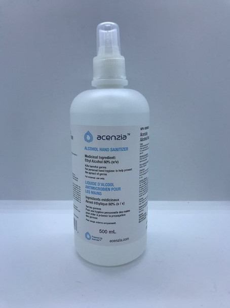 Acenzia Alcohol Hand Sanitizer 500mL
