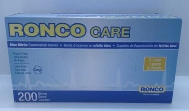 RONCO NITRILE GLOVES XL 200