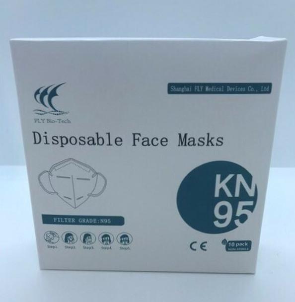 BIO-TECH DISPOSABLE FACE MASKS KN95