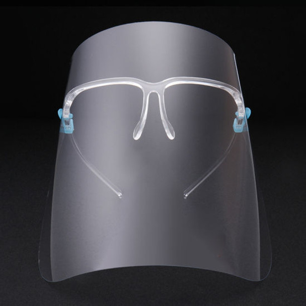 GLASSES WITH CLEAR SHIELD 1