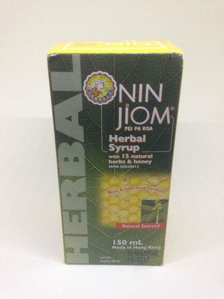 Nin Jiom Cough Syrup Expectorant, 150ml