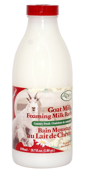 Alpen Goat Milk Foaming Milk Bath 850ml