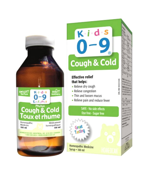 Kids 0-9 Cough & Cold Syrup, 100ml